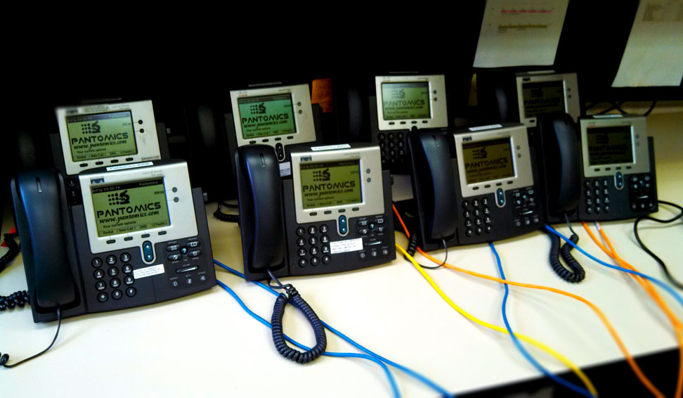 IP Phone system at JOINN Innovation Park