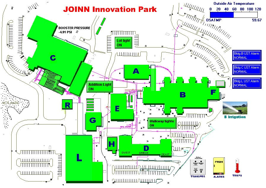 SIEMENS Insight BMS system at JOINN Innovation Park